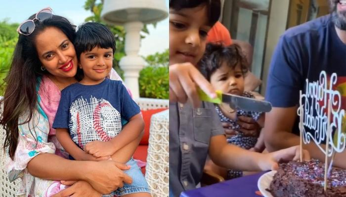 Sameera Reddy Gives A Glimpse Of How She Made Her Son, Hans' Birthday Special During The Lockdown