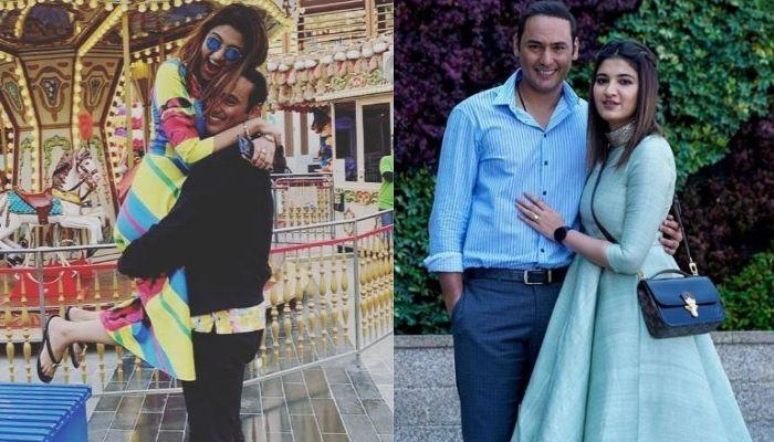 Anam Mirza Celebrates First Eid Post-Marriage By Giving Hubby, Mohammad Asaduddin The Tightest Hug
