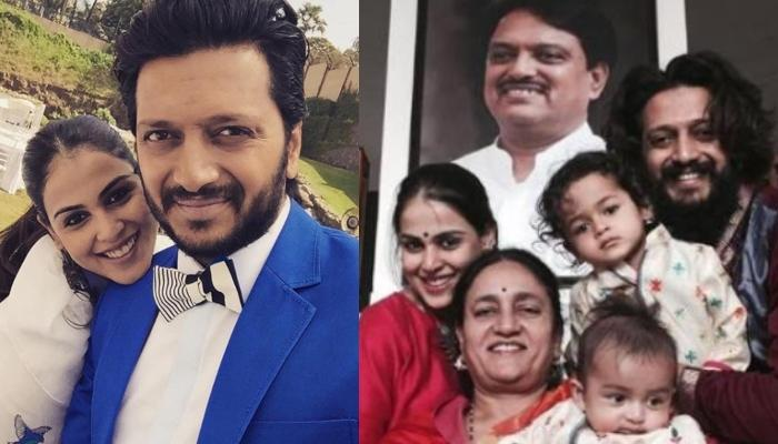 Genelia And Riteish Deshmukh Remember Vilasrao Deshmukh, Share Emotional Notes On His 75th Birthday