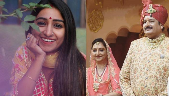 Mohena Kumari Singh Wishes Her Parents On Their 36th Wedding Anniversary Through Video Conferencing