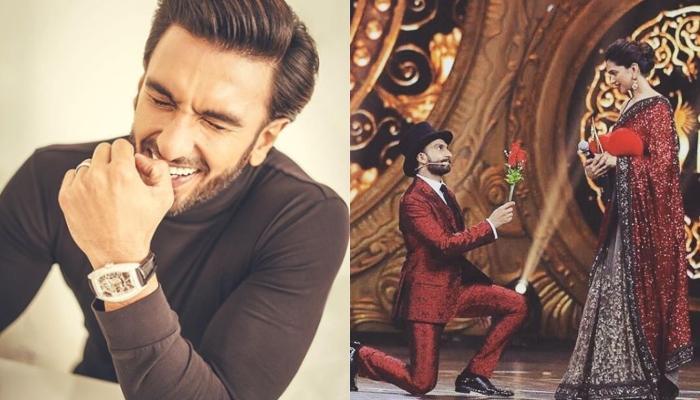 Ranveer Singh's Dad Had Scolded Him For Spending So Much Money On Flowers To Woo Deepika Padukone