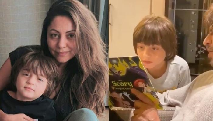Gauri Khan Gives A Glimpse Of AbRam Khan's Birthday Celebrations With His 'Favourite' Shah Rukh Khan