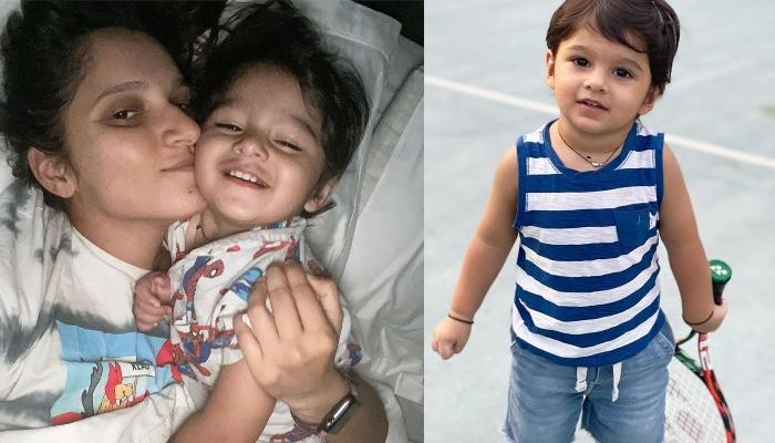 Sania Mirza's Son, Izhaan Becomes 'Picasso' For The Day But It Didn't Turn Out As Planned