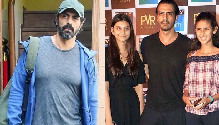 Arjun Rampal Shares A Loving Picture With His Daughters, Mahikaa Rampal And Myra Rampal