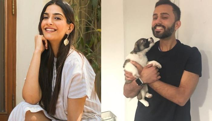 Sonam Kapoor Twins In Black With Her Darling Hubby, Anand Ahuja, Shares A Cute Picture