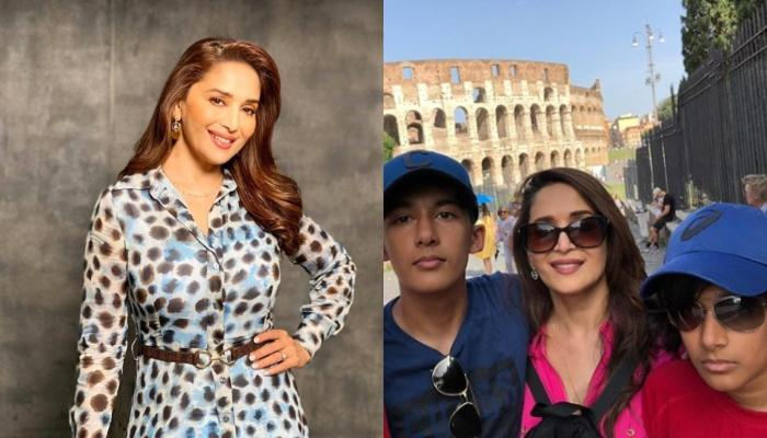 Madhuri Dixit Nene Reveals Her Sons, Arin And Ryan's Reactions On Her Movies And Songs