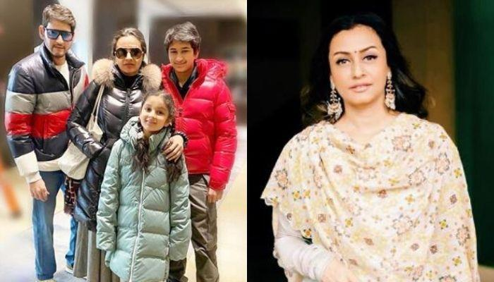 Namrata Shirodkar Shares A Childhood Picture Of Son, Gautam Lovingly Caressing Little Sister, Sitara