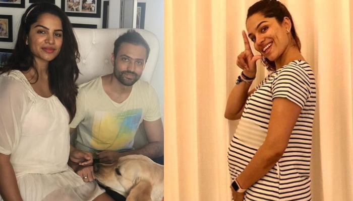 Shikha Singh Of 'Kumkum Bhagya' Shares A Monochrome Picture Of Her Last Trimester, Flaunts Baby Bump