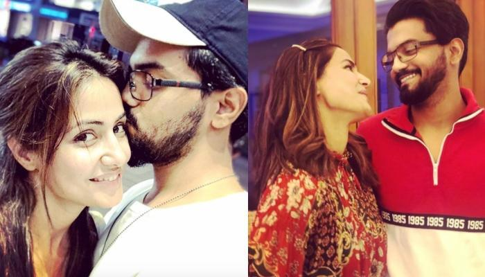 Hina Khan Posts Pictures From Her Beach Photoshoot, Boyfriend, Rocky Jaiswal Drops A Lovely Comment