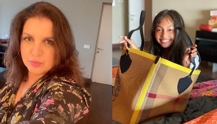 Farah Khan Shows Off Her Super-Mommy Skills As She Recreates Popular Painting For Her Daughters