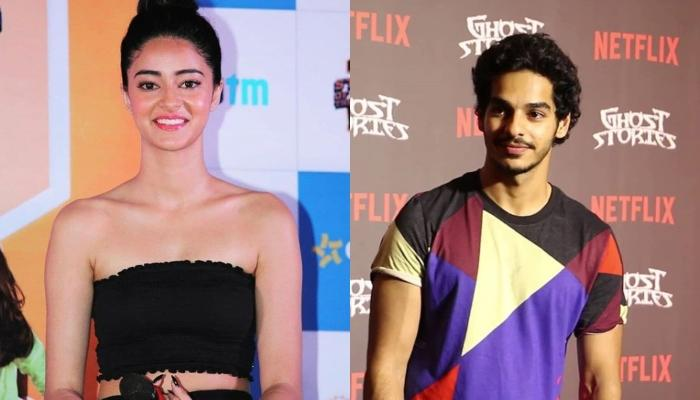 Ishan Khatter And Ananya Panday Engage In Online Flirting, Giving Heat To Their Dating Rumours