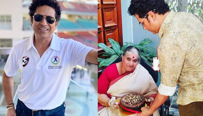 Sachin Tendulkar Pens A Thank You Note For His Parents On Global Day Of Parents