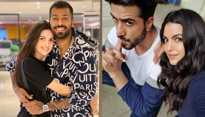 Hardik Pandya Posts Photo With Pregnant Wife, Natasha Stankovic, Her Ex-Beau, Aly Goni Reacts To It