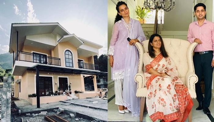 Inside Tour Of Rangoli Chandel's New Home In Himalayas, Thanks Sister, Kangana Ranaut For Designing