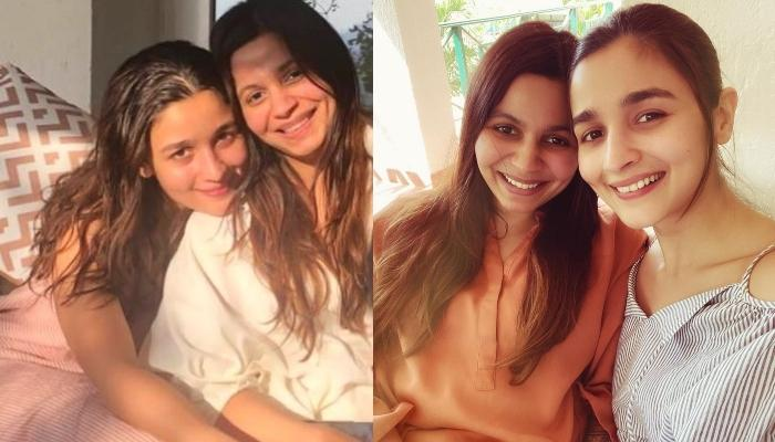 Alia Bhatt's Sister, Shaheen Bhatt Shares An Adorably Cute Picture With Her Baby Sister