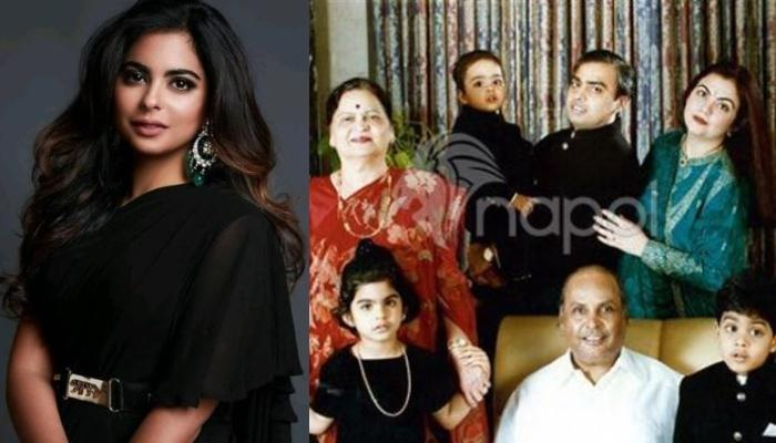 Isha Ambani And Akash Ambani's Unseen Cute Photos With Grandparents, Kokilaben And Dhirubhai Ambani