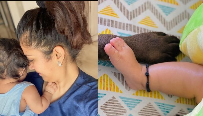Ankita Bhargava Shares Her Baby Girl, Mehr And Their Pooch's Inseparable Bond