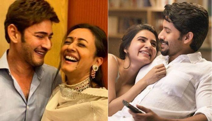 Namrata Had Shared Same Cuddled-Up Picture With Mahesh As Samantha And Naga On The Same Day
