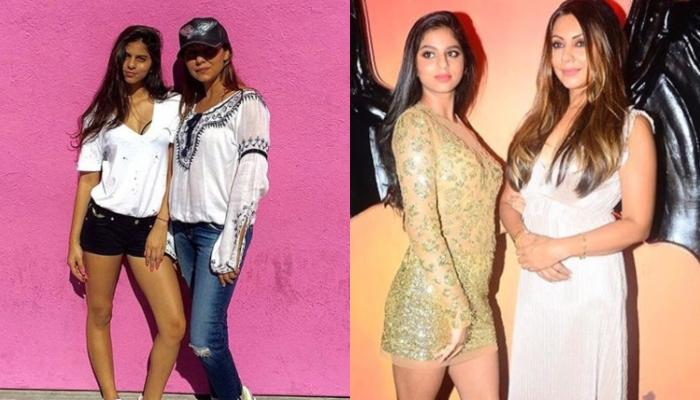 Suhana Khan And Gauri Khan Spotted Enjoying First Showers Of The Season In Their Plush Balcony