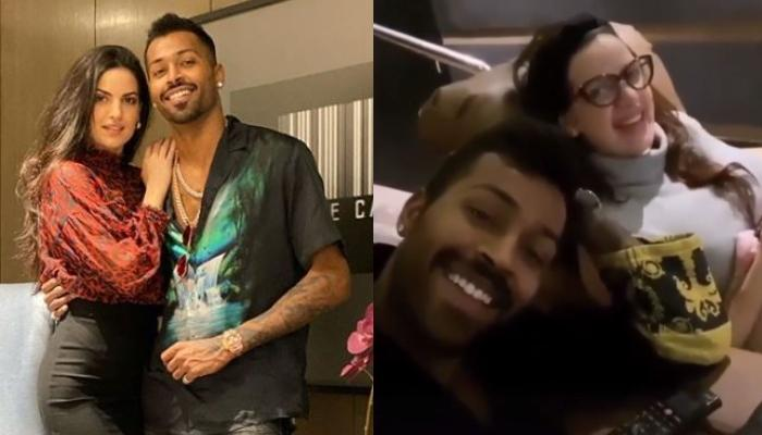 Hardik Pandya Mocking Natasha Stankovic As She Calls Him 'Jigar Ka Tukda' Is Why They're The Cutest