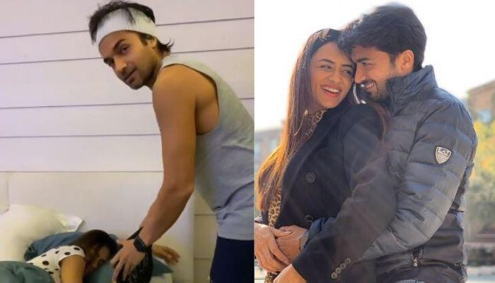 Smriti Khanna's Husband, Gautam Gupta Plays A Brutal Prank, Scares Her With Her Own Mirror Image