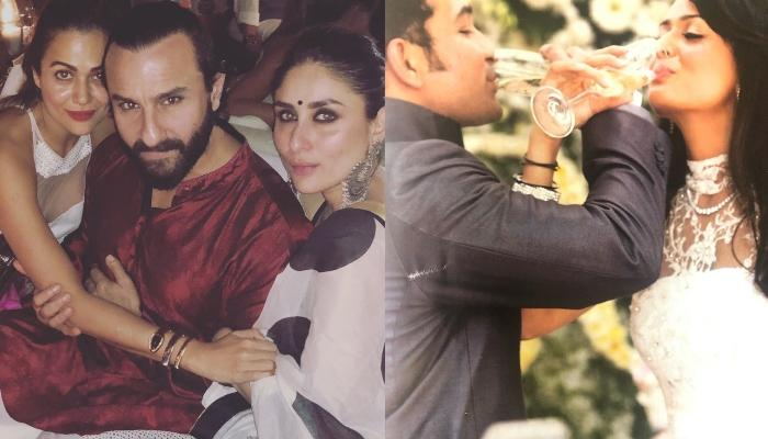 Kareena Kapoor Khan And Saif Ali Khan's Unseen Pictures From Amrita Arora's Christian Wedding