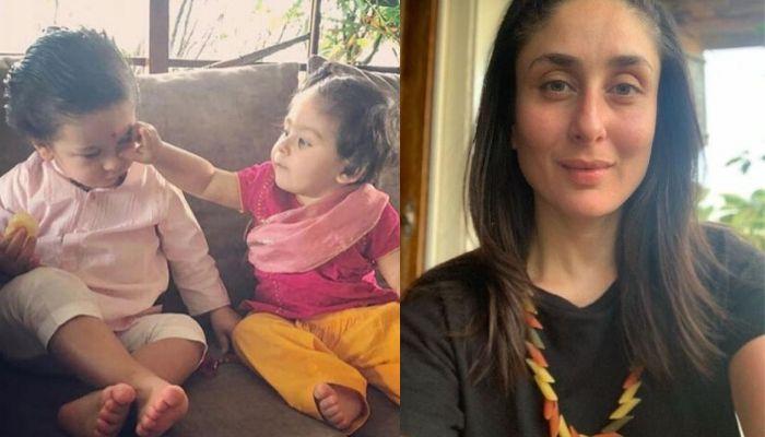 Kareena Kapoor Khan Shares Her Niece, Inaaya's Family Tree Painting With Bro Taimur's Cutest Picture