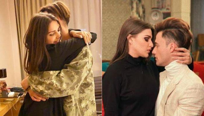 Are Asim Riaz And Himanshi Khurrana Engaged? Suggests The Huge Diamond Ring In Her Ring Finger