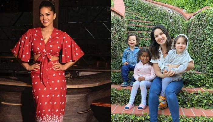 Sunny Leone Opens Up About Moving To The US With Her Husband And Kids Amidst The COVID-19 Pandemic