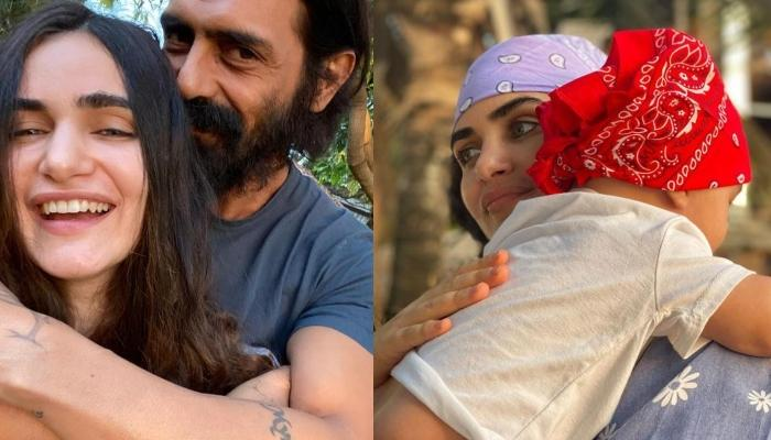 Arjun Rampal's GF, Gabriella Demetriades Opens Up About Spending Time With Son, Arik Amidst Lockdown