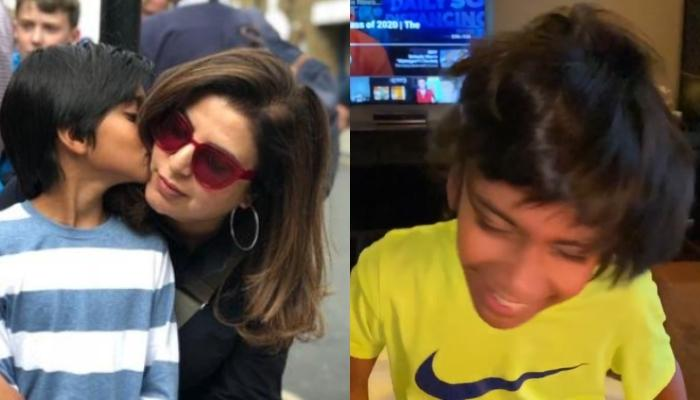 Farah Khan Is Hypnotised By Her Son, Czar's Long And Shiny Hair, Boasts Him For Shampoo Commercials