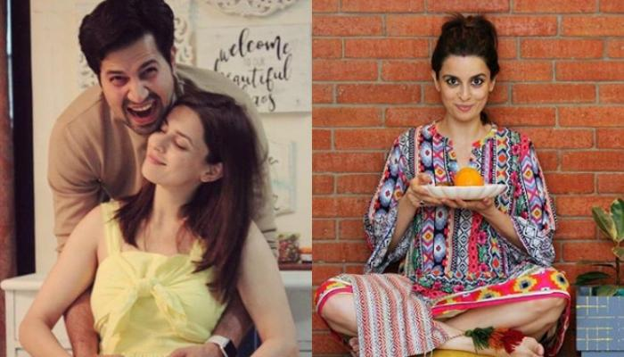 Sumeet Vyas Takes Care Of New Mommy, Ekta Kaul In Hospital, While She Makes Faces On Eating Salad