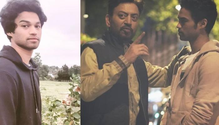 Irrfan Khan's Son, Babil Shares A Monochrome Picture Of His Late Father, Pens A Heartmelting Note