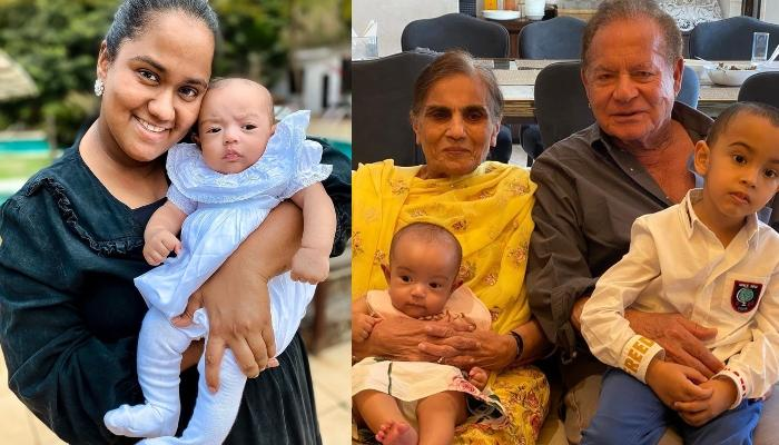 Arpita Khan Sharma Shares An Adorable Picture Of Her Daughter, Ayat With Her 'Nana', Salim Khan