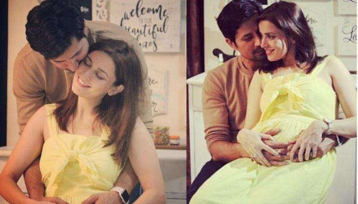 Mommy, Ekta Kaul Shares The First-Ever Picture Of Her Son, Ved With Sleepy Daddy, Sumeet Vyas