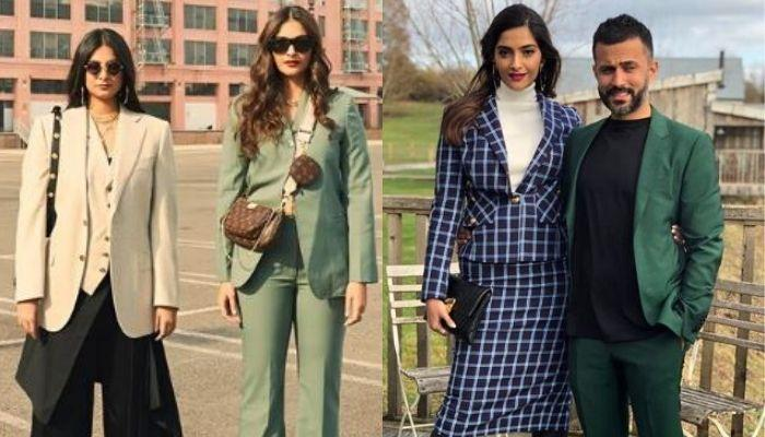 Sonam Kapoor Ahuja Re-Unites With Her Sister, Rhea Kapoor With The Help Of Her Husband, Anand Ahuja