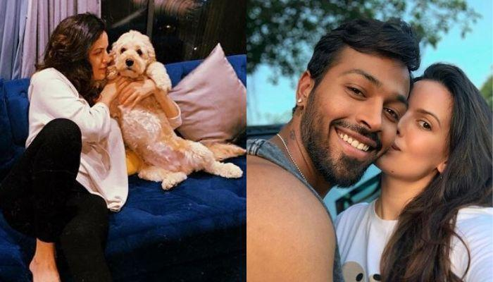 Natasa Stankovic's Unseen Baby Shower Picture With Hubby, Hardik Pandya And Their Three Pooches