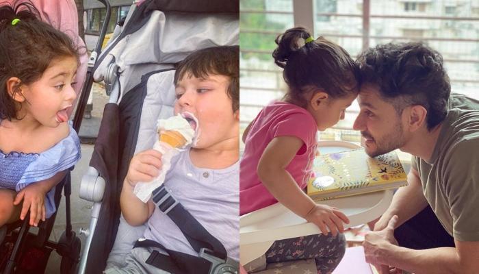 Taimur Ali Khan And Inaaya Naumi Kemmu Talk Over Video Call In Their 'Language', Reveals Kunal Kemmu
