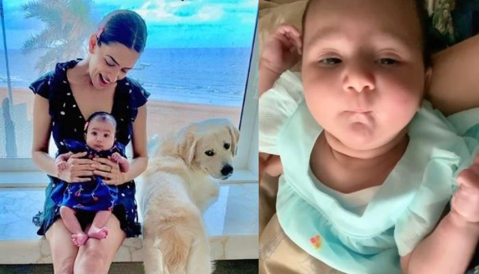 Smriti Khanna Posted A Video Of Baby Girl, Anayka Asking Help From Her Mother To Balance Her Cheeks