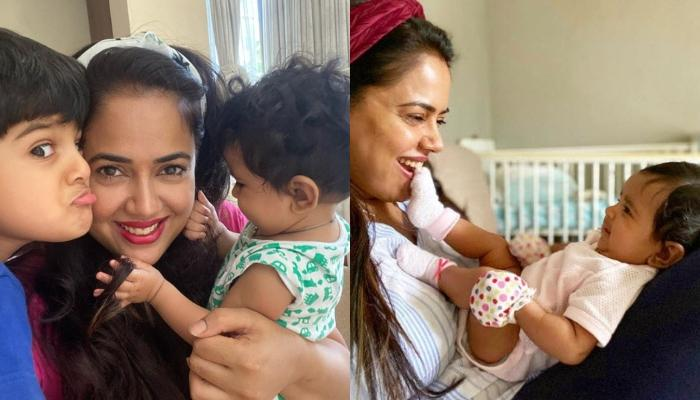 Sameera Reddy Pens Her Experience Of Breastfeeding Her Daughter, Nyra, Busts A Lot Of Myths