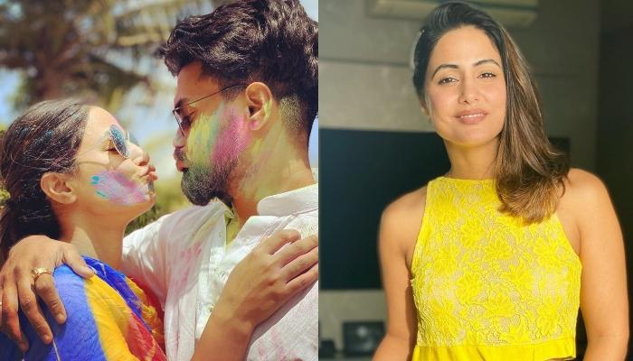 Hina Khan's Boyfriend, Rocky Jaiswal Shares A Monochrome Picture Of His GF, Pens A Lovely Note