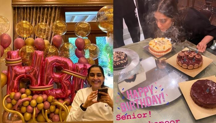 Inside Photos From Sonam Kapoor Ahuja's 35th Birthday Celebration, Thanks Her 'Blessing' Anand Ahuja