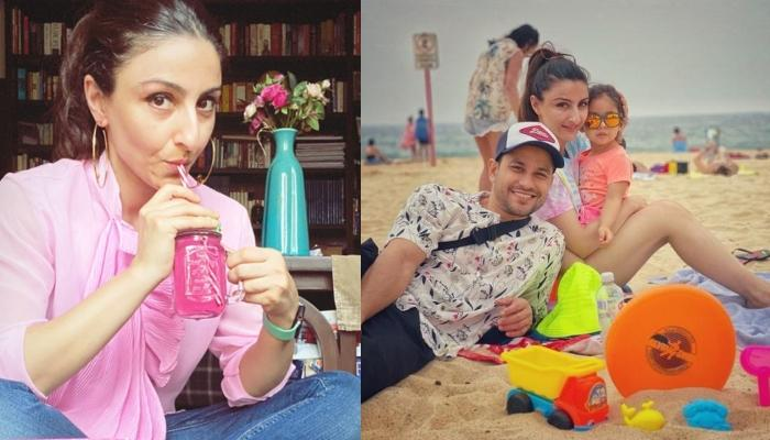 Soha Ali Khan Shares Beach Pictures With Kunal And Inaaya, Reminisces About Good Old Days