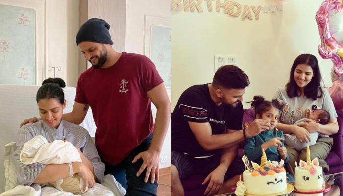 Suresh Raina Posts An Adorable Picture Of His Baby Boy, Rio In His Arms, Calls Him 'Curious Cat'