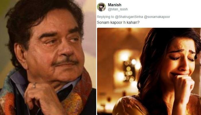 Shatrughan Sinha Wishes Happy Birthday To Sonam Kapoor With A Group Photo And It Sparked A Meme Fest