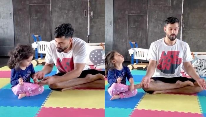 Kunal Kemmu Teaches Yoga To His Daughter, Inaaya Naumi Kemmu Ahead Of 'International Yoga Day 2020'