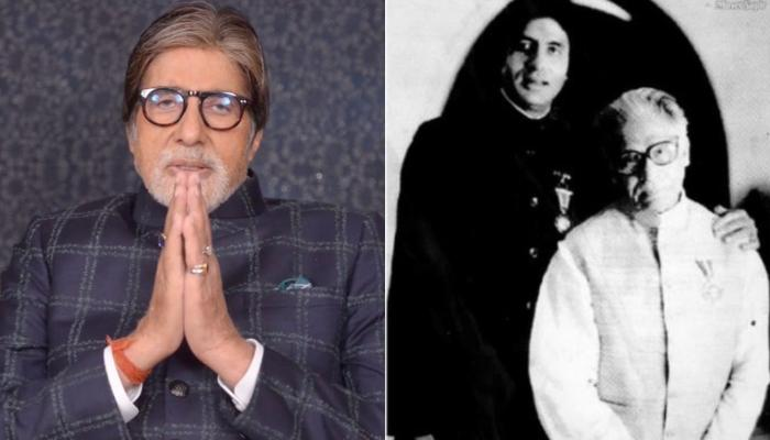 Amitabh Bachchan Remembers His Father, Pens Down Some Iconic Lines Of Harivansh Rai Bachchan
