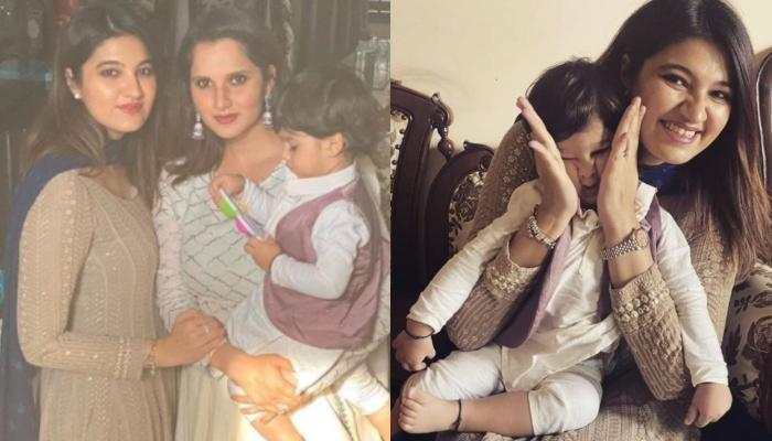 Sania Mirza's Baby Boy, Izhaan Mirza Malik Teaches His 'Khaala', Anam Mirza 'How To Take Baby Steps'
