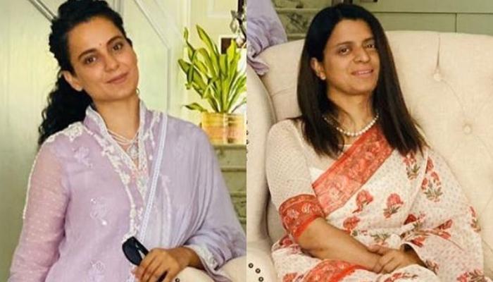 Kangana Ranaut Turns Hairstylist As She Gives A New Haircut To Sister, Rangoli Chandel