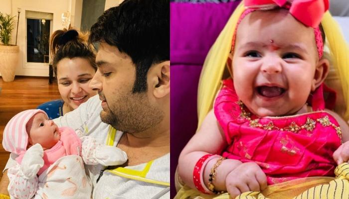Kapil Sharma's Angel, Anayra, Turned Six Months Old, Looks Like A Carbon Copy Of Mom, Ginni Chatrath
